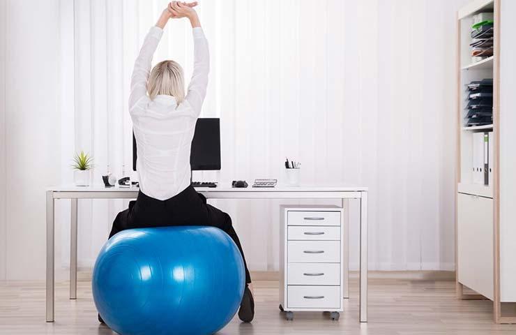 Ponte en forma en el trabajo